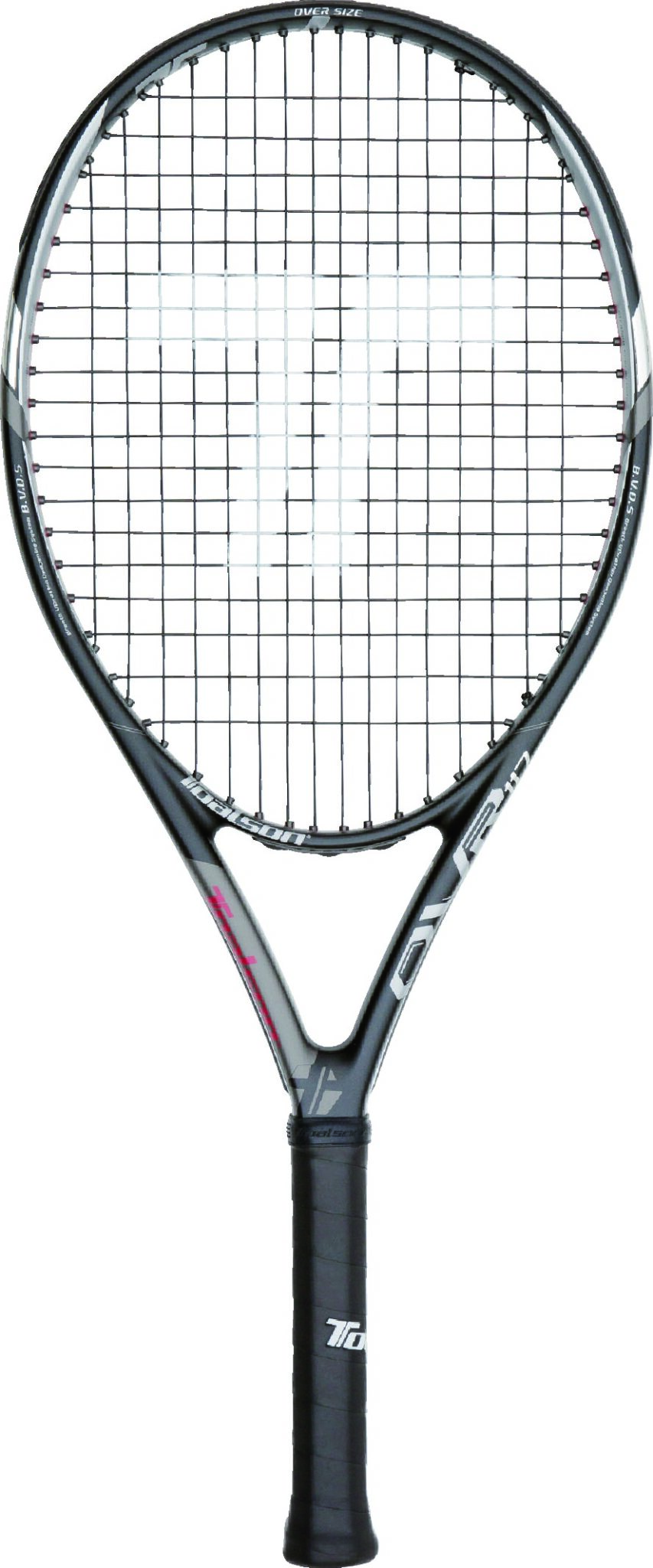 Tennis Racket OVR 117 Black